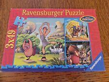 Ravensburger * 3 PUZZLES DISNEY Hercules * 49 pièces 5-6 ans ! Manque 1 pièce !