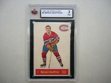1957/58 PARKHURST NHL HOCKEY CARD #2 BERNIE GEOFFRION KSA 3 VG NICE!! PARKIE