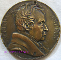 MED10416 - MEDAILLE ANDRE MARIE AMPERE 1836 par CHAPLAIN