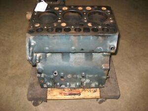 KUBOTA L225 ENGINE BLOCK D1100A3534