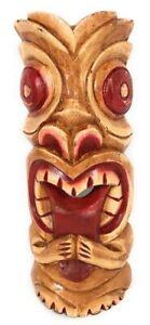 "Big Kahuna Tiki Mask 12"" - Hawaiian Tiki Bar Decor   #ksa902330"
