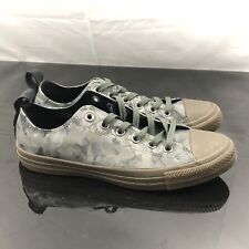 CONVERSE ALL-STARS LOW CAMMO GREEN SNEAKER Mens Sz 10 159754C