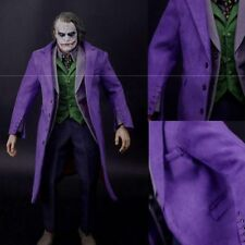 Hot Toys 1/6 Scale Batman Joker Clothes Set+Gun+Action Figure Body Accessories