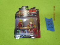 Street Fighter vs Tekken Minimates Ken vs Steve figure Diamond 100301