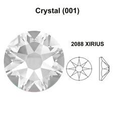 144 clear CRYSTAL 001 Swarovski 2088 20ss flatback rhinestone 5mm ss20 wholesale