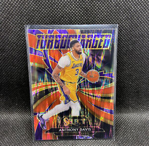 2020-21 Select #5 Anthony Davis Red Flash Prizm Turbocharged SP Exclusive