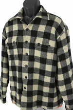 POLO SPORT SPORTSMAN Mens RALPH LAUREN THICH WOOL / NYLON Flannel Jacket LARGE
