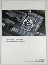 AUDI MMI HIGH NAVIGATION SYSTEM PLUS OWNERS MANUAL HANDBOOK – 11/2012 EDITION