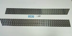 "Jeep TJ Wrangler 5 3/4"" Diamond Plate Rocker Guards  Panels 1997 thru 2006"