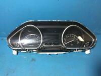 2008-14 Peugeot 9805341480 Speedometer Clock Cluster