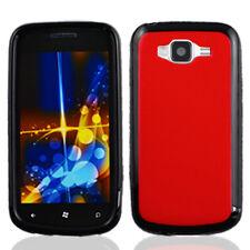 For Samsung Focus 2 i667 TPU Gel GUMMY Hard Skin Case Phone Cover Red Black