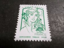 FRANCE 2016, timbre 5015, MARIANNE CIAPPA vert, neuf**, MNH STAMP