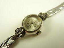 Vintage GRUEN Ladies 17 Jewels Swiss Watch For Parts or Repair ~ Runs