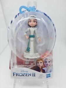"Disney Frozen 2 Honeymaren 4"" Doll Wearing White Dress NEW Hasbro"