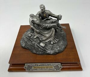 Chilmark Civil War Sculpture by F Barnum 1988, Brother Against Brother 4639