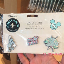 Limited pin set mickey mouse memories space May month disney Store disneyland