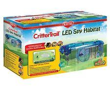 KAYTEE CritterTrail LED SPY HABITAT Small Animal Pet Cage