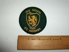 VINTAGE ST. ANDREWS OLD COURSE GOLF COURSE PATCH
