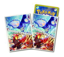 2x Japanese Pokemon XY GROUDON KYOGRE sleeves 32ct NEW = 64 TOTAL SLEEVES!!