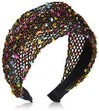 Caravan 3inch Colorful Mesh Fabric In Matching Colors Comfortable Headband