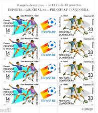 ANDORRA Edifil # 161 MP 1 World Cup ESPAÑA 82 / futbol / fussball