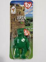 Rare TY Teenie Beanie Baby Erin the Bear 1997 Retired With Errors BRAND NEW
