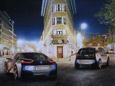 Poster BMW i3 en i8 (Concept Cars)