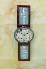 Wanduhr Wechselrahmen Bilderrahmen Hängeuhr Vintage Retro Uhr Wanddeko MU645-a
