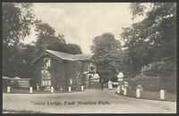 Micheldever, Hants. East Stratton. Middle Lodge, East Stratton Park 1907 P/Card