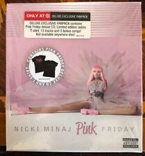 NICKI MINAJ - PINK FRIDAY - Rare DELUXE EXCLUSIVE FANPACK w. T shirt....