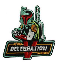 Star Wars - Celebration V - Special - Boba Fett - Patch Aufnäher zum Aufbügeln