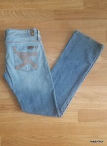 ~EXCELLENT!~ Women's 7 For All Mankind FLYNT Stretch Jeans Size 27
