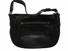 ~~~~~~ VINTAGE COACH BLACK SOHO LEATHER HOBO SHOULDER BAG F13106 MSRP $218 ~~~~~