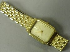 "Timex classy ladies dress watch 6 3/4"" band new battery good clasp runs perfect"