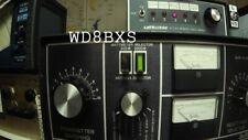 Dentron MT-3000A Wattmeter buttons