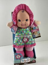 """Baby's First 1st Giggles Doll Goldberger 12"""" Plush Machine Washable Blue Eyes"""