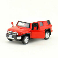 Toyota FJ Cruiser 1:43 Model Car Diecast Toy Kids Collection Gift Pull Back Red