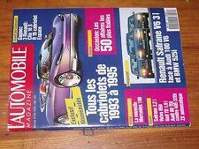 $$$ Revue L'automobile N°550 Mercedes 190Renault SafraneF1 ProstR Petty