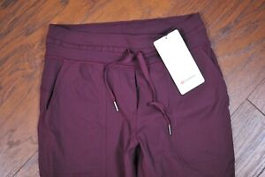 "NWT Lululemon Dance Studio Crop Pants 25"" Cassis Women's 6"