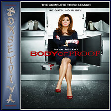 BODY OF PROOF - COMPLETE SERIES SEASONS  3  **BRAND NEW DVD **