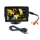 "4.3"" TFT Car Reverse RearView Color Monitor DVD VCR LCD Display NEW 4R87"