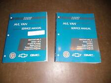 Werkstatthandbuch Service Manual Chevrolet GMC Van 1997