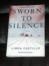 LINDA CASTILLO Sworn to Silence WITH CD Kate Burkholder NEW paperback ARC