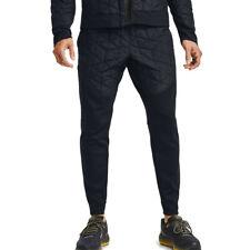 Under Armour Mens ColdGear Reactor Running Pants Trousers Bottoms Black Sports