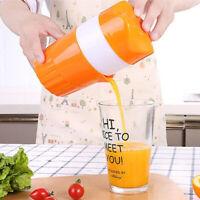 NE_ MultifunctionManual Juicer Fruit Orange Citrus Lemon Juice Bottle Cup Squeez