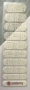Jamberry Nail Wraps Half Sheet Retired Between The Lines SSE