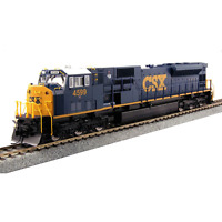 "Kato 37-6373 Diesel Locomotive EMD SD80MAC CSX ""Dark Future"" #4599 - HO"
