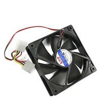 New 12V 120mm Computer PC Case 4 Pin Cool Cooler Cooling Fan for PC Laptop CUP