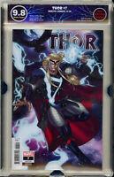🔥🔥 Thor #7 Sharp 1:25 Variant EGS 9.8 not CGC Marvel Comic CATES BLACK WINTER