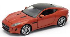 JAGUAR F TYPE COUPE 2015 1:24 Scale Diecast Model Toy Car Miniature Orange
